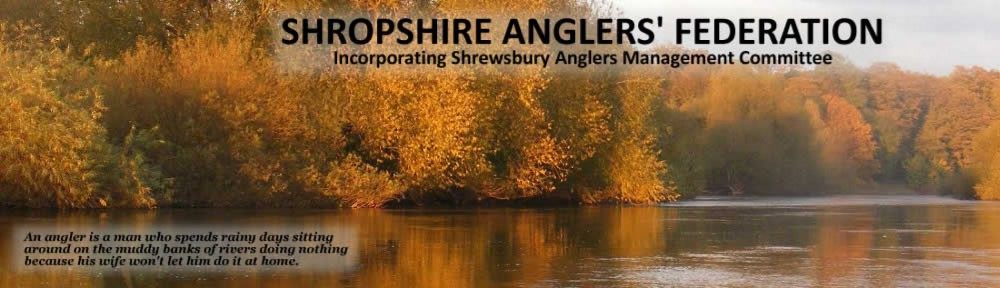Shropshire Anglers Federation : Fishing Shrewsbury