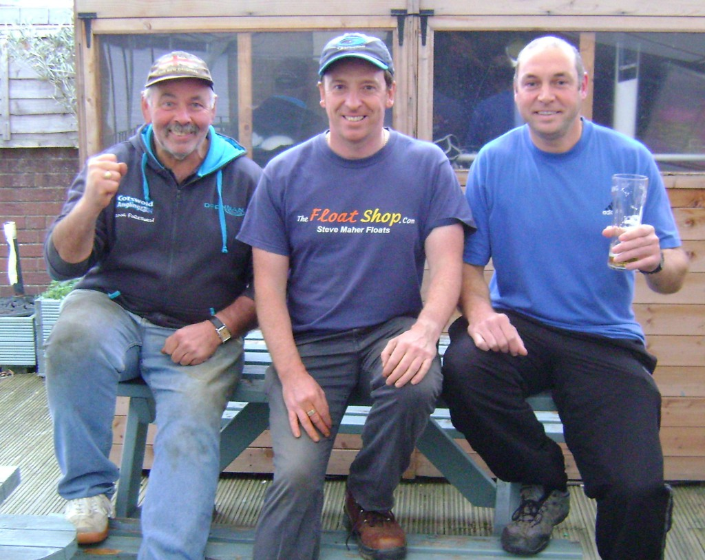 L to R - Doug Forshaw (3rd), Steve Maher (1st), Adam Williams (2nd)